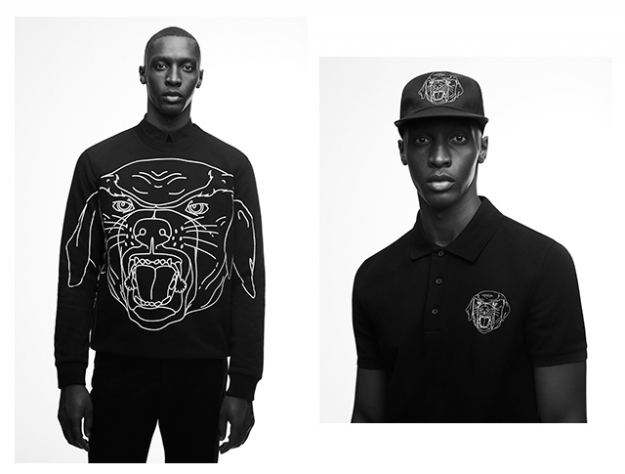 Givenchy's iconic Rottweiler print is given a graphic makeover