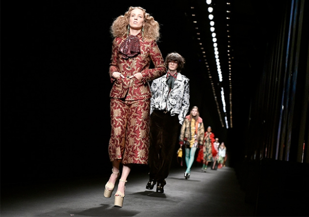 Gucci goes co-ed with its future fashion shows