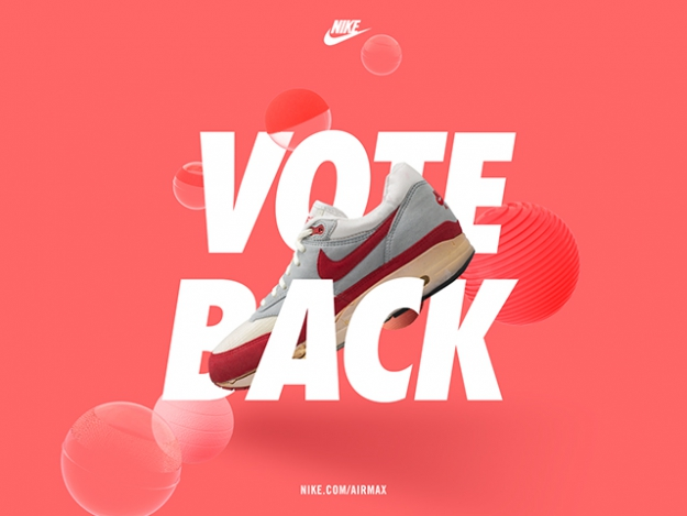 Bring back your favourite Nike Air Max model by voting