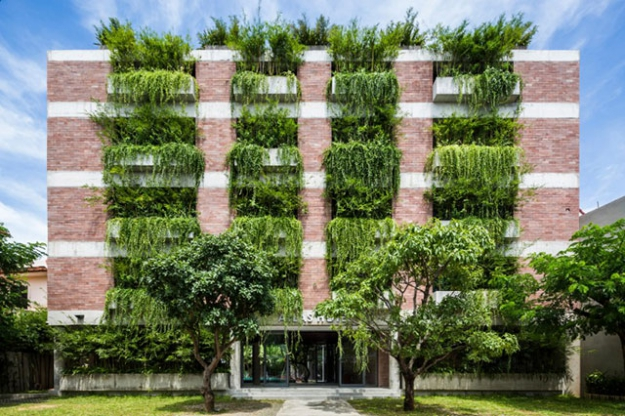 Atlas Hotel Hoi An, Hanoi, Vietnam by Vo Trong Nghia Architects