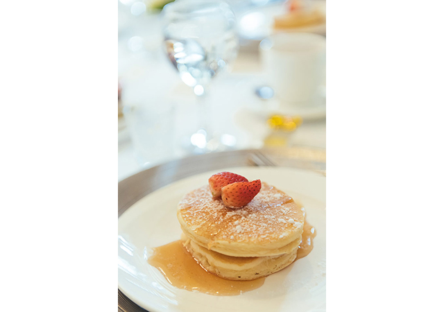 Who can resist pancakes for brunch?