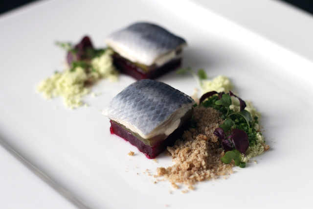 Herring and beetroot