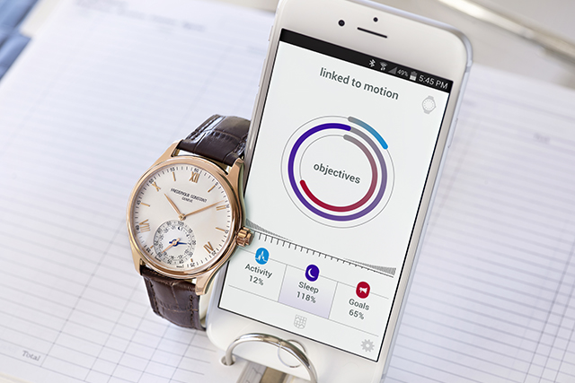 A link between modern and classic: Frederique Constant's Swiss Horological Smartwatch