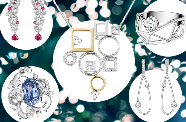 Selberan's sparkling pieces are perfect for Christmas