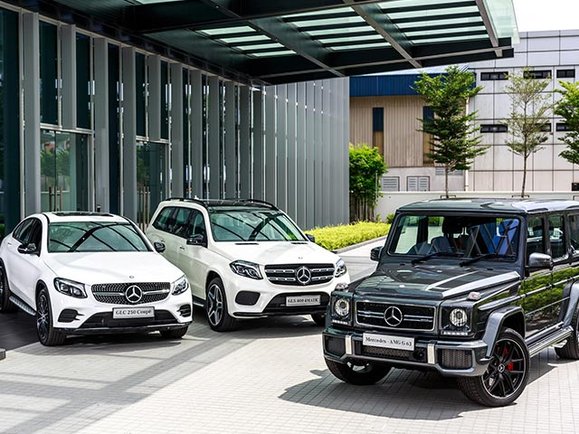 Mercedes-Benz Malaysia launches GLC Coupé, GLS and the iconic G-Class