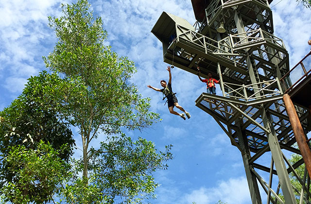 When in Penang, give the Escape adventure theme park a go