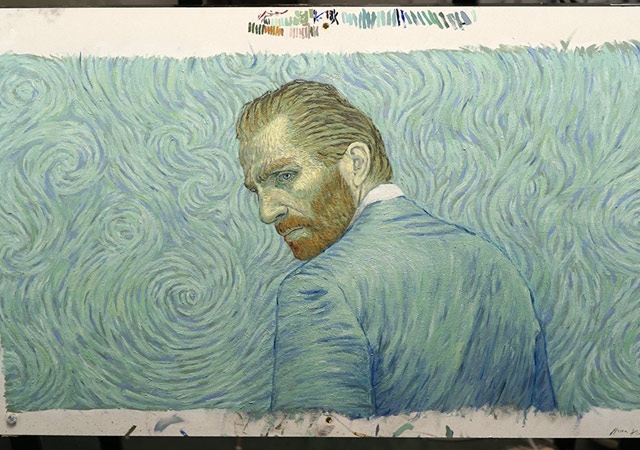 'Loving Vincent' is world's first fully hand-painted film
