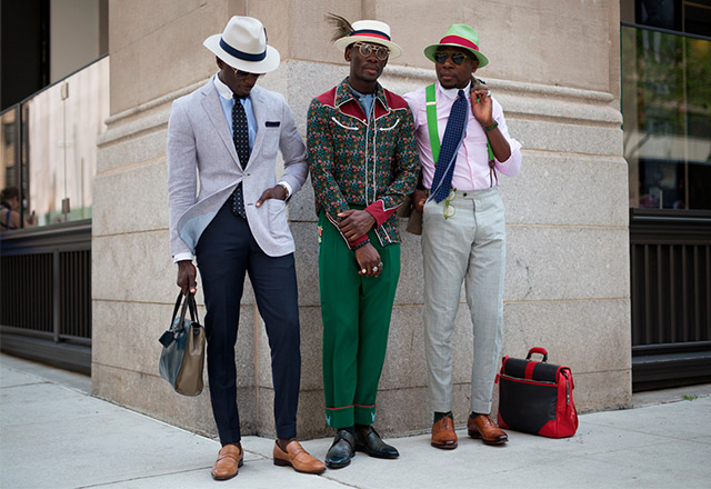 The best street style from NYFW Men's SS18