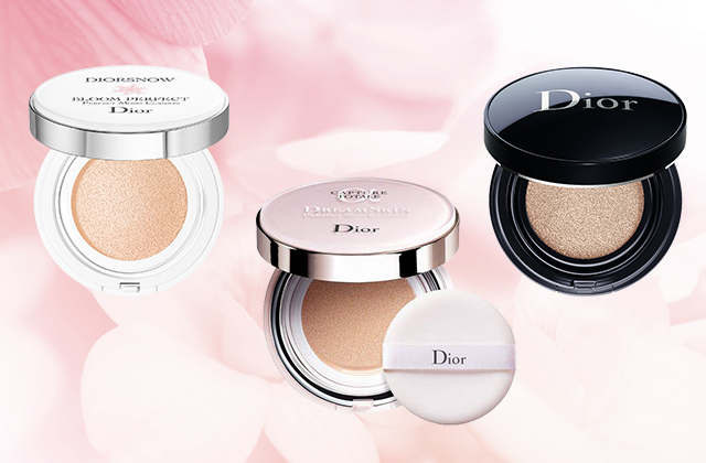 Tried and Tested: Dior's three best-selling cushion compacts