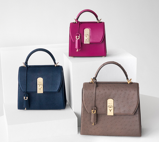Arm candy of the week: Salvatore Ferragamo's Boxyz bag