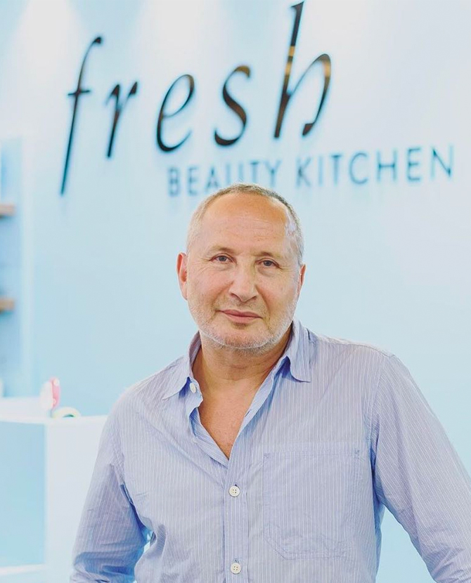 Fresh's Lev Glazman on the brand's first ever Beauty Kitchen in KL and what he can't travel without