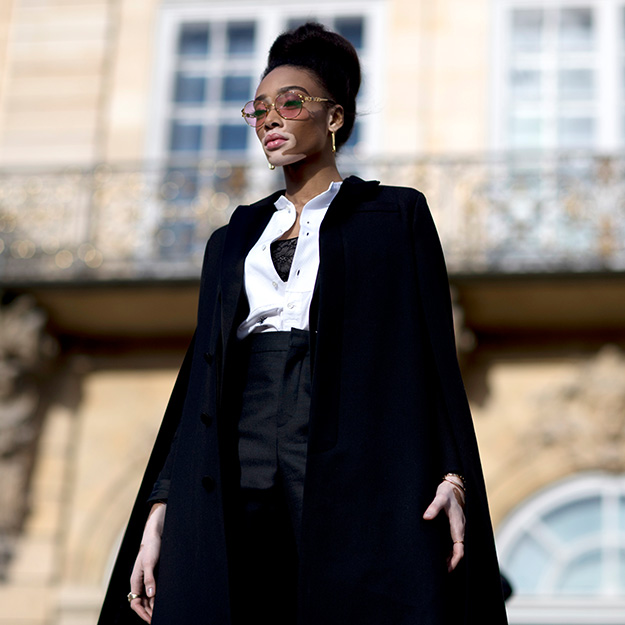 Paris Haute Couture Week SS18 street style: Black-and-white done right