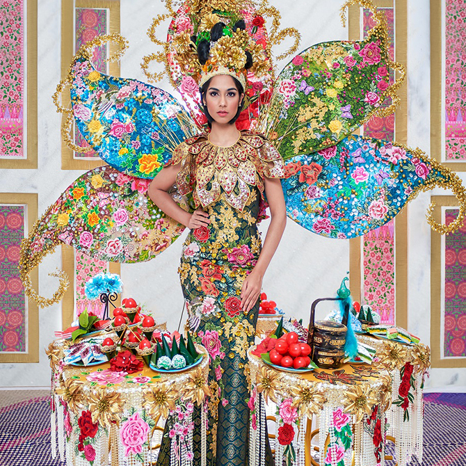 Yay or nay: Miss Universe Malaysia's 2019 Peranakan-inspired national costume