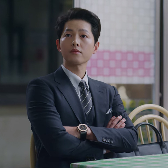 Style ID: Song Joong Ki and his luxury watches in 'Vincenzo'