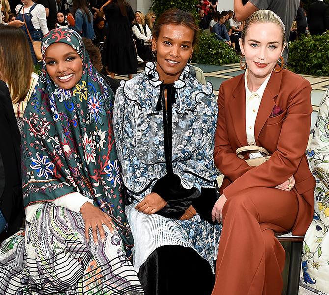 ICYMI: All the celebs spotted at Tory Burch's SS20 show