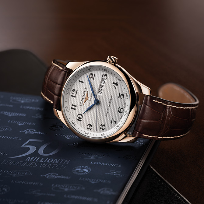 Longines celebrates its 50 millionth timepiece