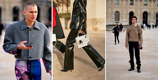 Paris Men's Fashion Week AW20 Street style: The sweet spot of structure and chaos
