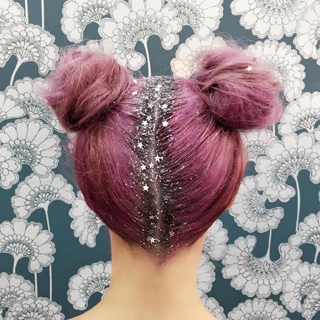 Glitter me fancy: The latest trend to cover up your roots