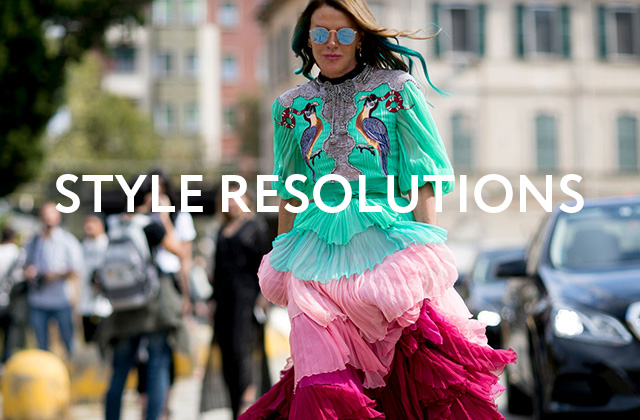 New Year, New You: Team Buro's 2017 style resolutions