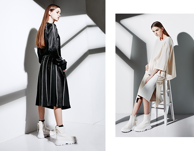 DKNY Pre-spring 2017 is the definition of so fresh, so clean