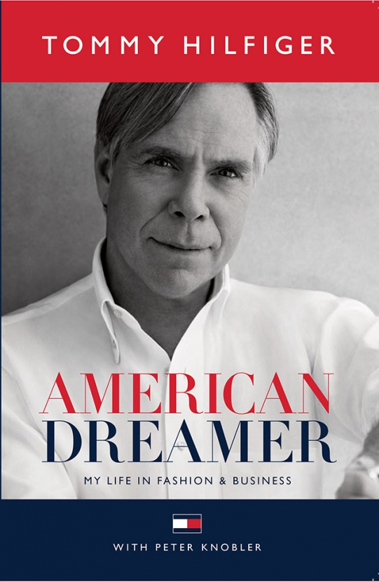 Unveiled: The cover of 'American Dreamer', a memoir by Tommy Hilfiger