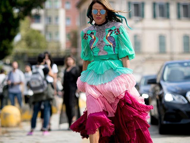 Milan Fashion Week SS17: Day 1 Street Style