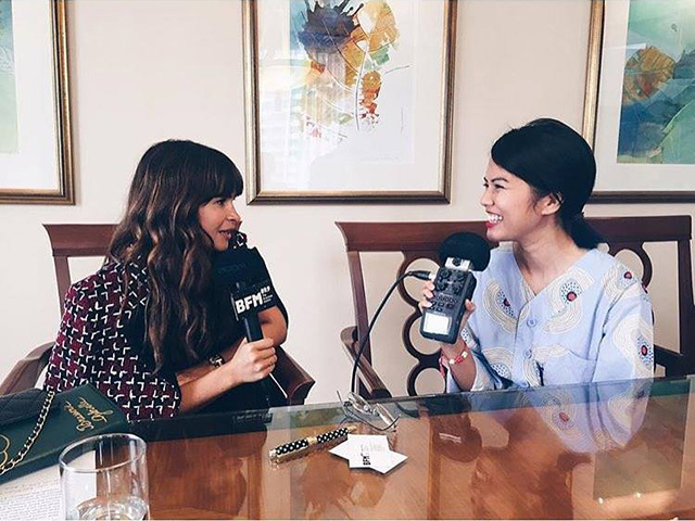 Listen now: Miroslava Duma and Cai Mei Khoo of Buro 24/7 on Style File BFM89.9