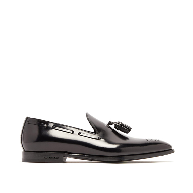 Buxley patent-leather loafer, Burberry
