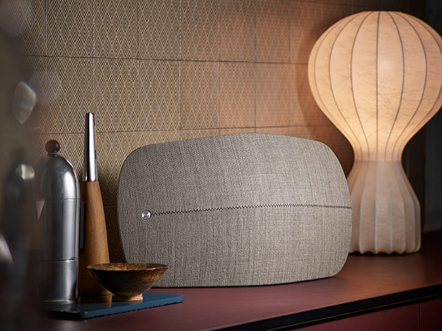 Beoplay A6: Designed to fit your interior style and impress you with its extraordinary sound, it offers an intuitive and wireless music experience with adjustable performance