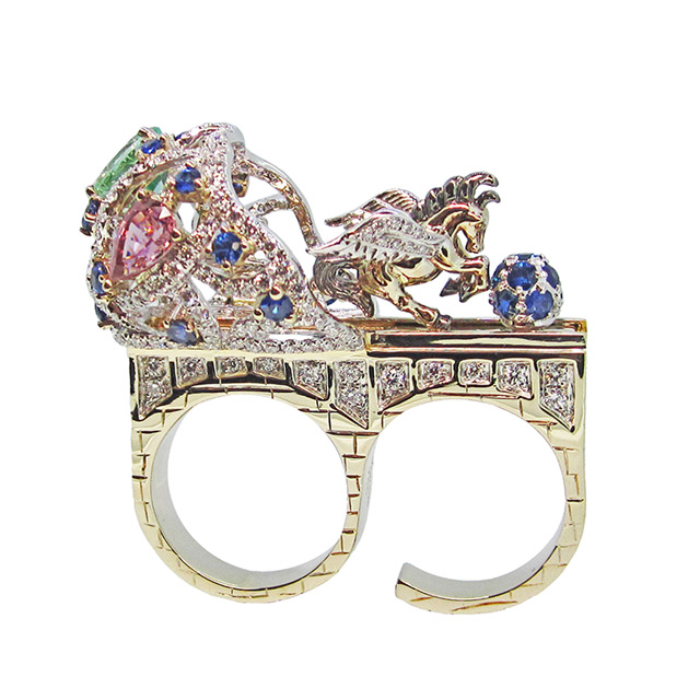 'Chariot Of Treasures' ring