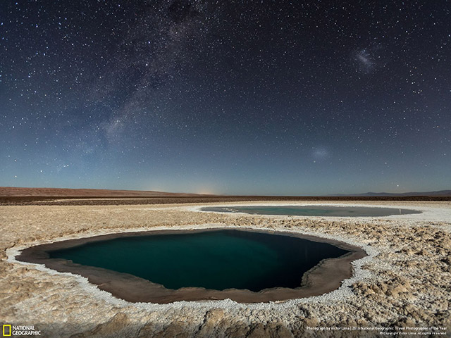 Lagunas Baltinache (Atacama Desert) by Victor Lima | Third place winner, Nature