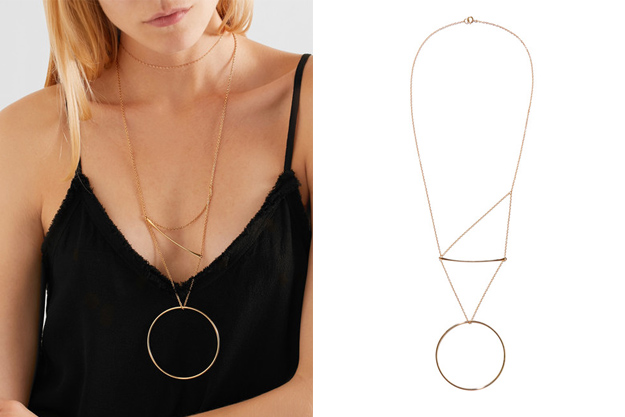 Pendulum 14-karat gold-plated necklace<p><a style=""\"" target=""_blank"" href=""https://www.net-a-porter.com/my/en/product/942613/natasha_schweitzer/pendulum-14-karat-gold-plated-necklace"">Natasha Schweitzer</a></p>625|417|?|a59a8c4a9fdcb3488ff8f0b879d5e89c|False|UNLIKELY|0.3251688778400421