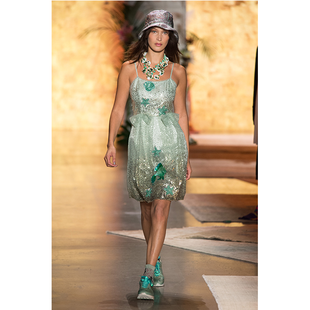 September 10: Walking the Anna Sui show