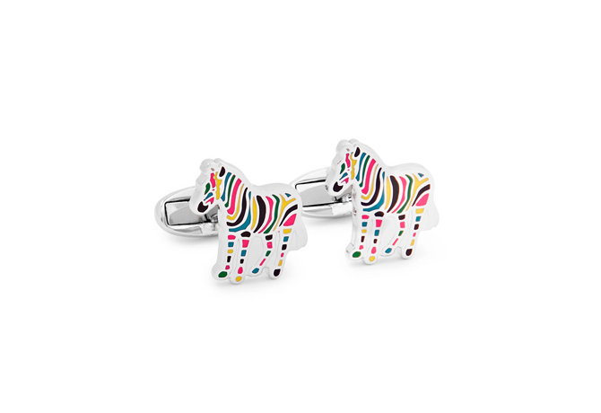 Zebra Silver-Tone And Enamel Cufflinks, Paul Smith<p><a style=""\"" target=""_blank"" href=""https://www.mrporter.com/en-my/mens/paul_smith/zebra-silver-tone-and-enamel-cufflinks/1093282?ppv=2""><i>Shop here.</i></a></p>