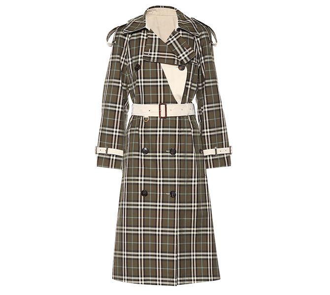 Eastleigh reversible trench coat, Burberry