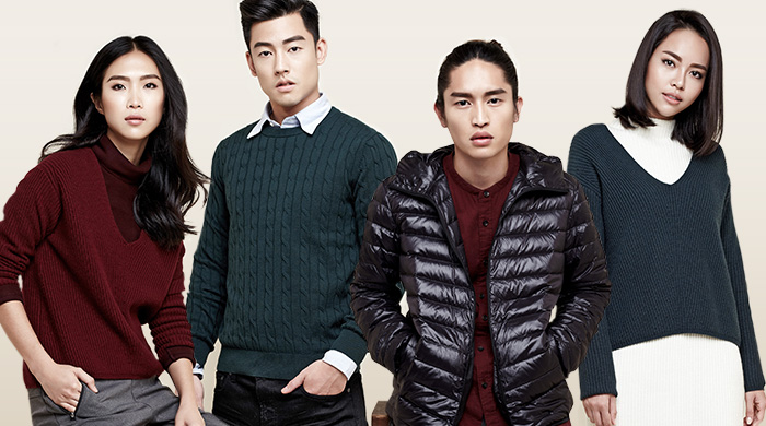 4 personalities are going places with Uniqlo LifeWear Fall/Winter 2016