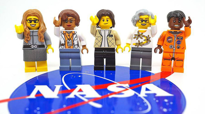 One tiny big step for womankind with Lego's NASA figurines