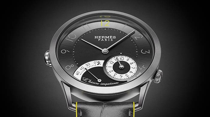 Discover the Hermès timepiece that makes counting down a pleasure