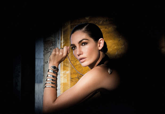 Buro 24/7 Exclusive: An interview with Lily Aldridge for Bulgari