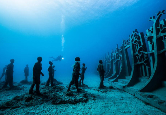 Haunting yet captivating – Europe's first underwater museum is now open